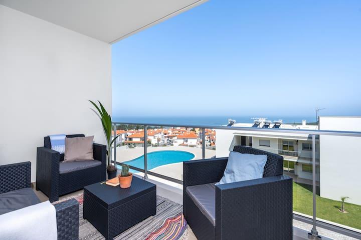 Private Condominium, Pool, Tennis & Sea View