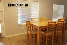 Kitchen Dining, leading to TV