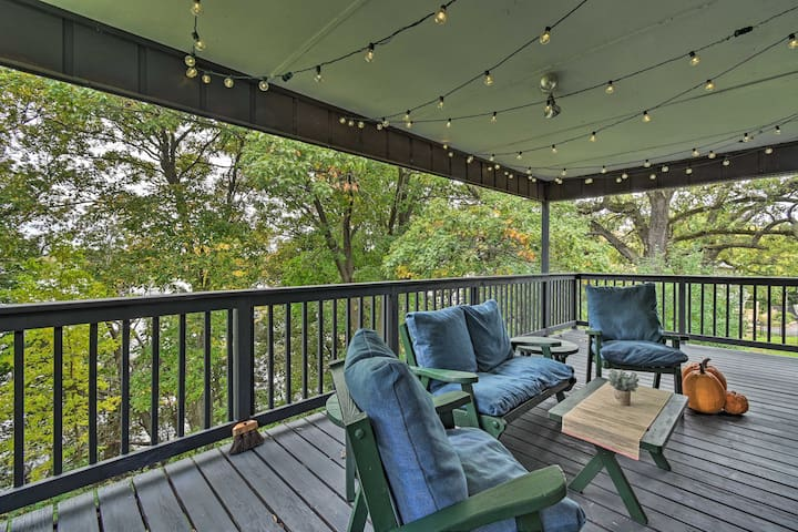 NEW! Private Lakefront Haven w/ Deck, Pier + Yard!