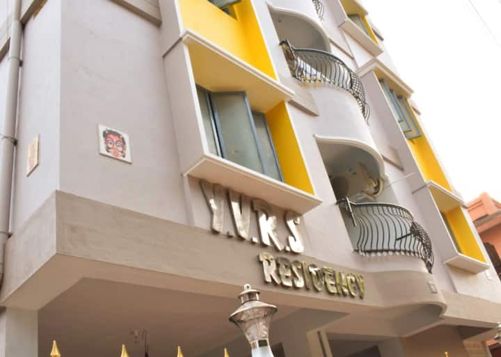 2 BHK AC Service Apartment