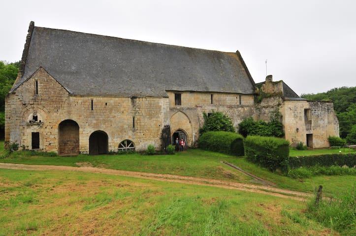 Gite dans le cadre d'une Abbaye