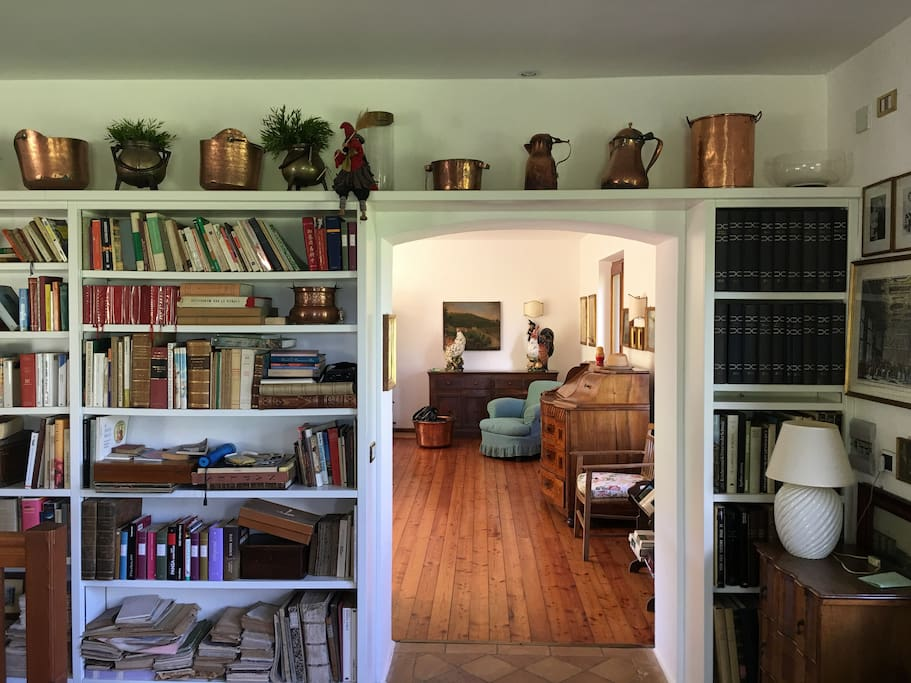 soggiorno/libreria