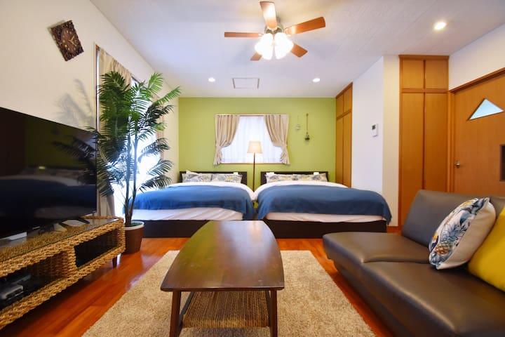 Okinawa, Nanjo-shi☆Whole House Max12ppl!MK067