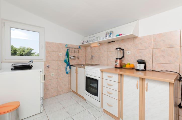 One bedroom Apartment, seaside in Okrug Donji (Ciovo), Terrace