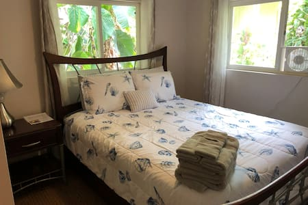Hawaiian Shores Queen Deluxe Private Room