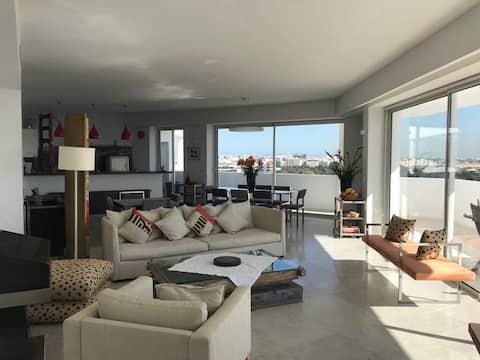 Luksus penthouse i Tunis Du kommer til å elske det!