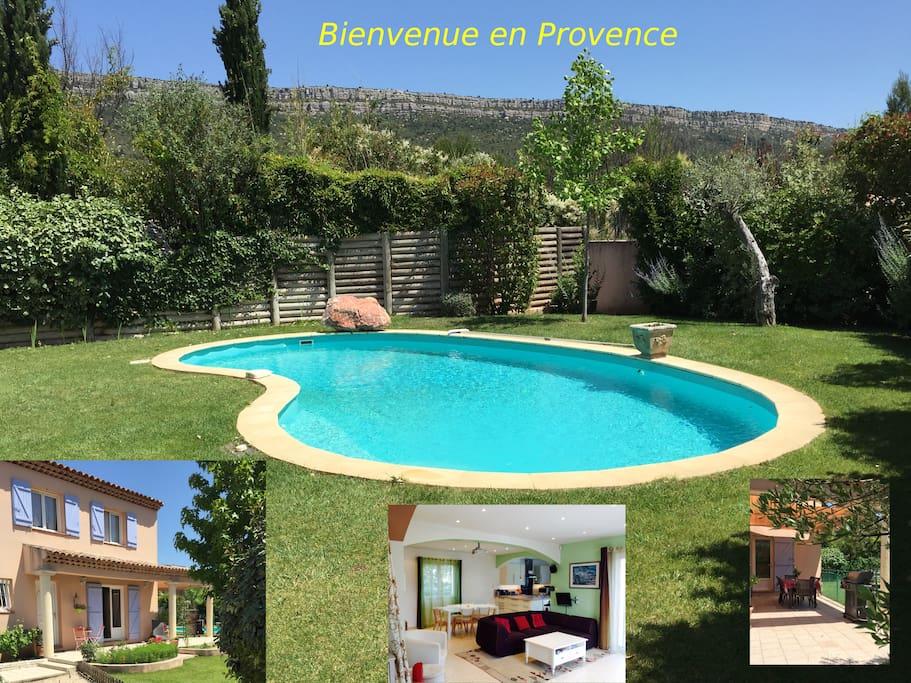 Belle villa pr s d 39 aix en provence avec piscine villas - Piscine d aix en provence ...