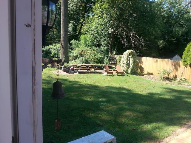 Access to beautiful backyard and patio!
