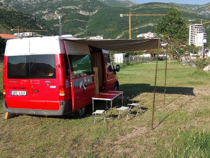 Ford campervan fast and economical