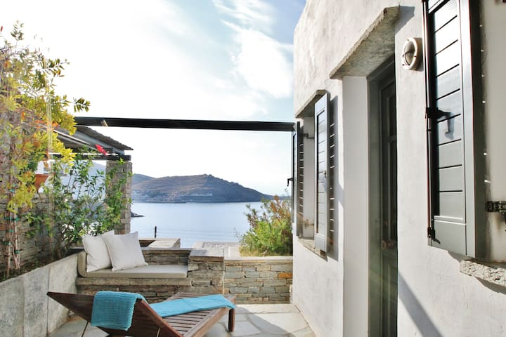 North Cycladic Modern Maisonette - Kéa - Dom