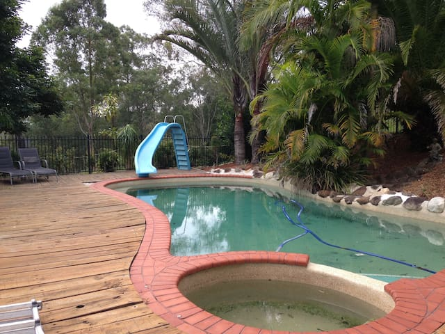 Family/Pet friendly Holiday Apartment Mudgeeraba - Mudgeeraba - Huoneisto