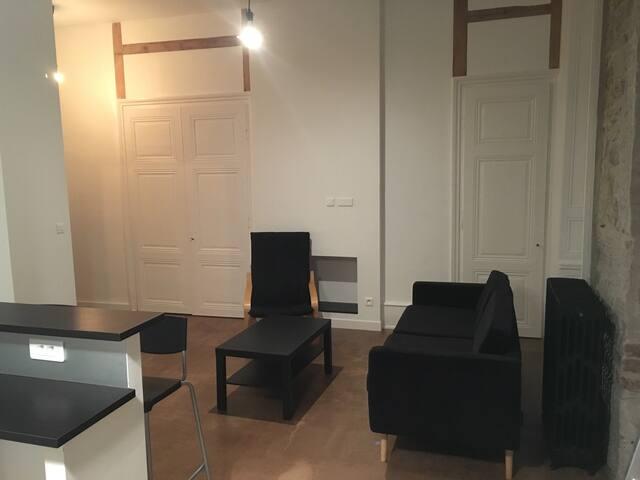 Charmant T2, parking, proche tram - Saint-Étienne - Apartamento