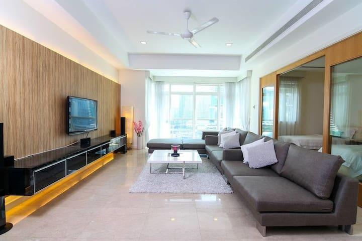 Binjai#1:4 Bedroom, 2000 sq ft of luxury near KLCC