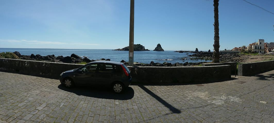 Casetta in stile marinaro sul mare - Aci Castello - Daire