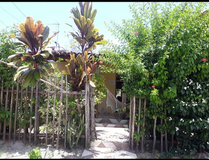 Quarto Casinha Acohegante na Praia Linda, Gamboa