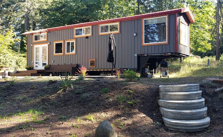 Big living in our tiny house by the Puget Sound