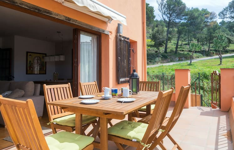 Puestas de sol en la Costa Brava - Begur - Huis