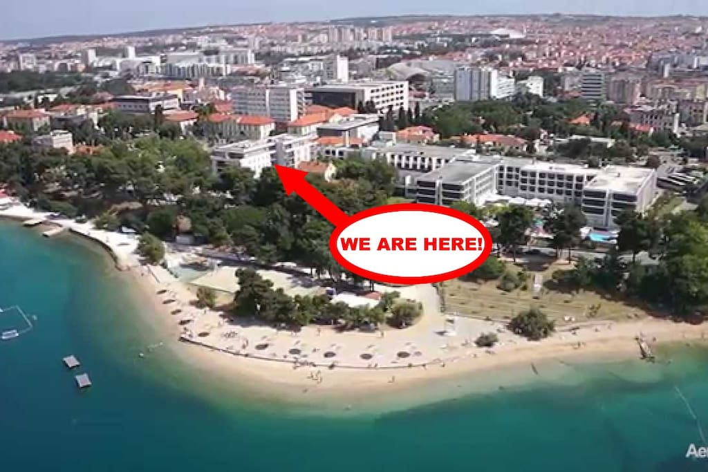 location (30 m from the beach Kolovare)