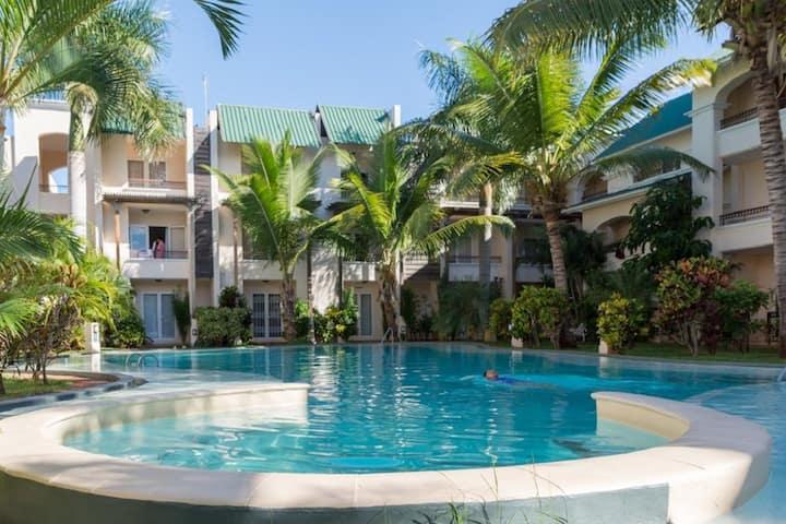 Appartement avec piscine non loin de la mer