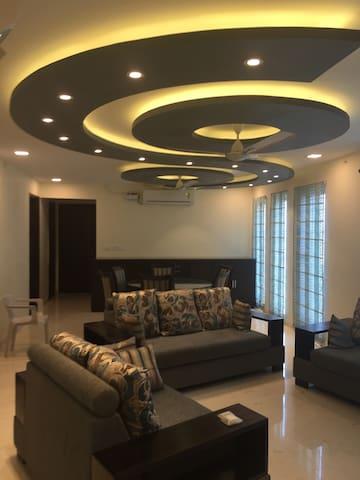 Family-Friendly Apartment - Chennai - Leilighet