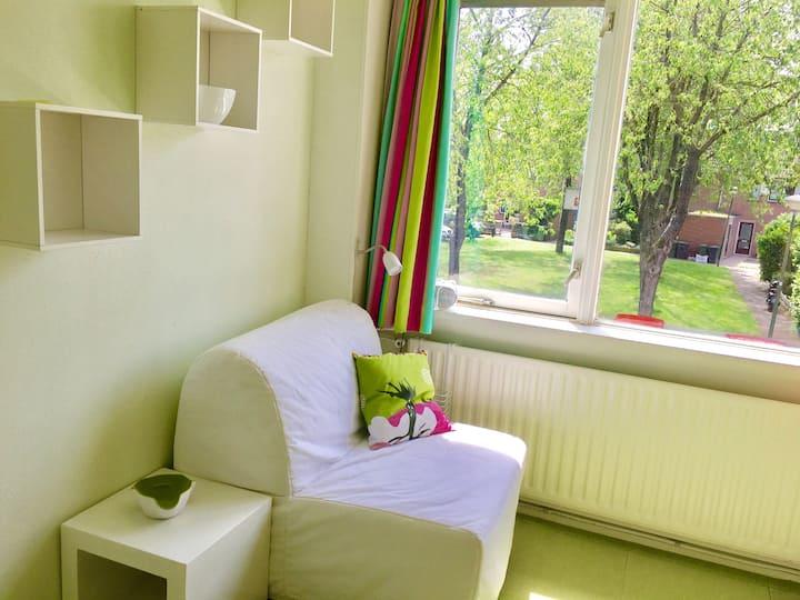 Long stay kitchenette room Utrecht Amsterdam