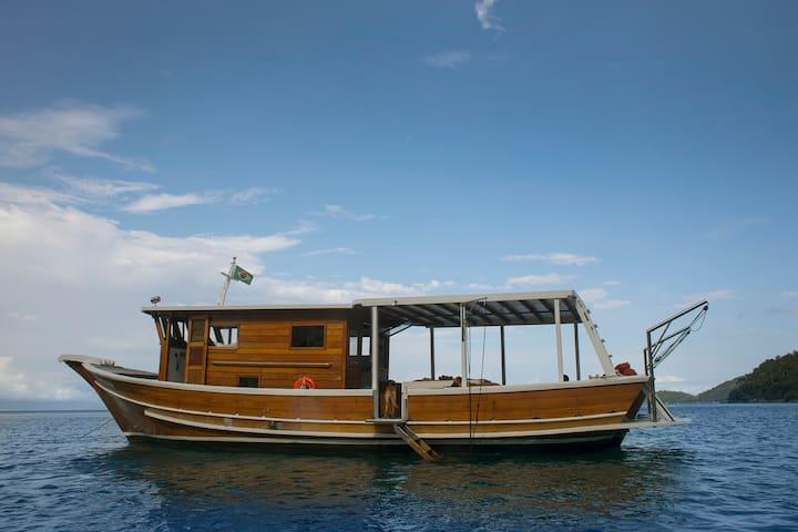 Barco pytagua