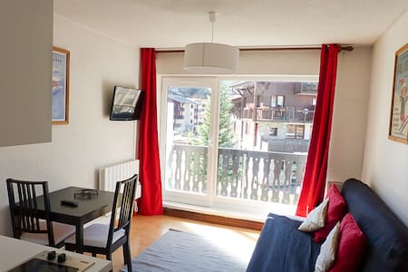 Studio full equipped in Val d'Isere center. - Huoneisto