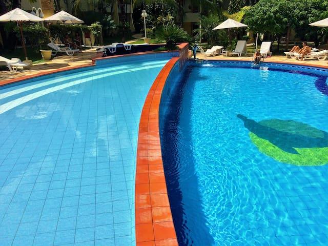 SOLAR DE PIPA DUPLEX COM VISTA PARA O MAR - Pipa Beach - Apartment