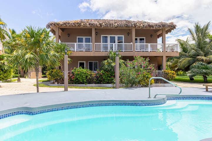 A one-bedroom pool view villa in Sapphire Beach Resort, a tropical beachfront resort! (01A)