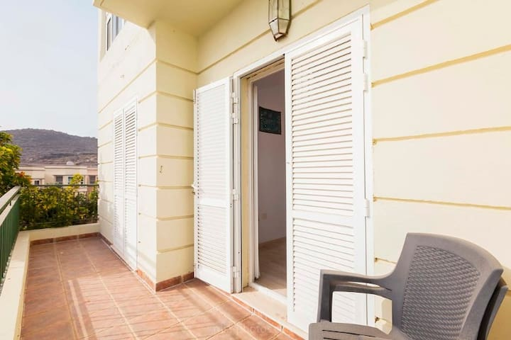 Airy doors to enjoy fresh prana(air) open or closed. The inner doors are the security doors with double/triple glazing so both of these should be closed during the night. And when you go out, it is a safe neighbourhood but better safe than sorry!