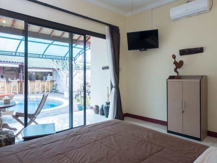 Villa Yukie Senggigi - Room Melati