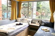 ≛阿木 Cozy Triple Room Park View, TST MTR 4mins≛