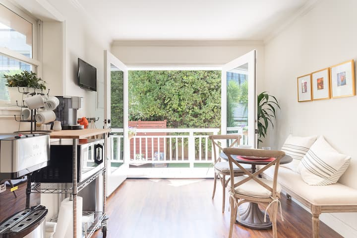 SF Neighborhood Gem with Private Garden & Office