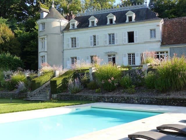 manoir de la vigneraie suite familiale - Athée-sur-Cher - Bed & Breakfast