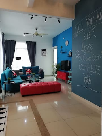 New Scandinavia style homestay (全新北欧风民宿) @BM CITY