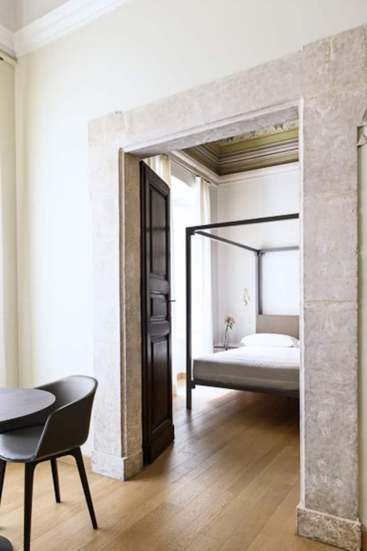 Camera Matrimoniale Liberty - Dimora Fortebraccio