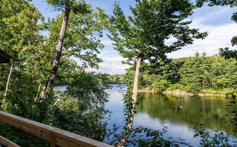 Peaceful Waterfront Home on Merrimack River