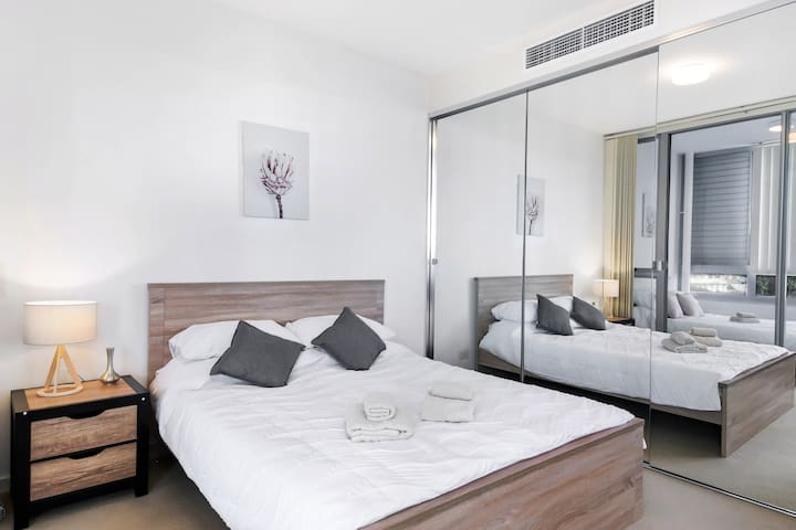 The master bedroom will give you a great nights sleep and makes sure you wake up refreshed as if you just came out of a spa. It has three separate wardrobes ample to store all your clothes and more.