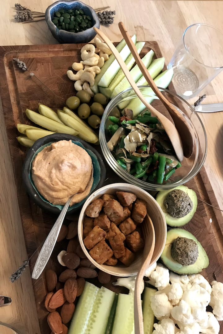 Another simple Charcuterie Vegan Board