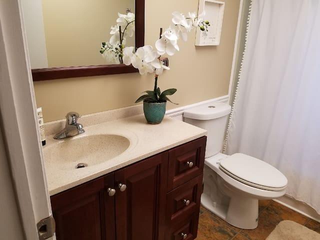 Bathroom with ADA toliet