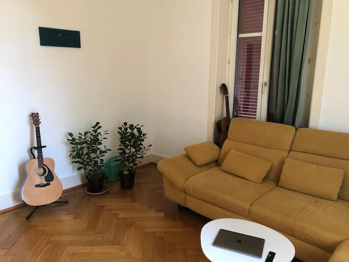 a cosy appartment in the centre of lausanne