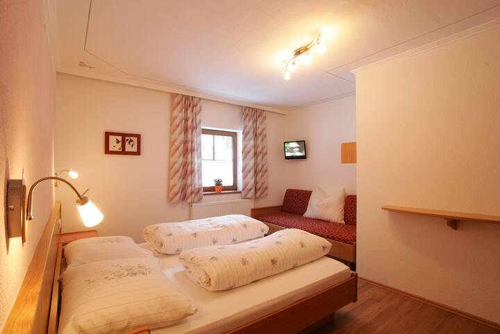 Alpengasthof Enzingerboden - 3 Bett Zimmer
