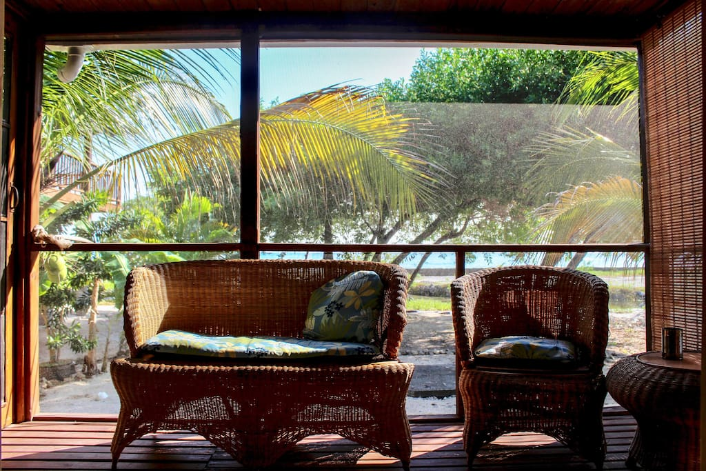 Sit, listen, and rest as you view the beautiful ocean from your own private terrace.