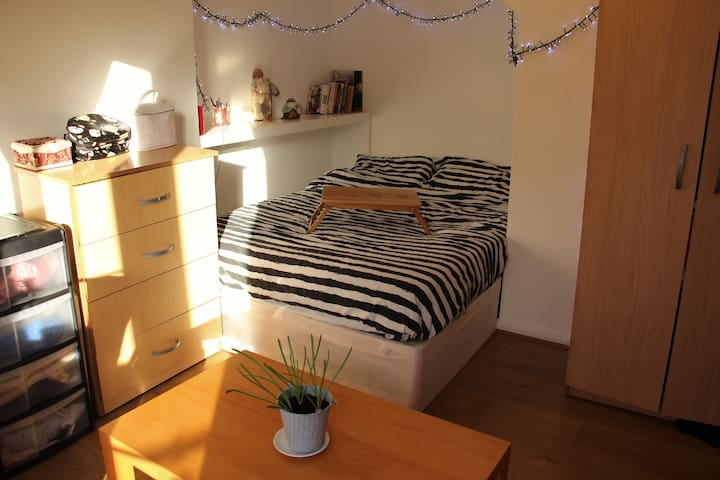 Large double room with a balcony Zone 1/2