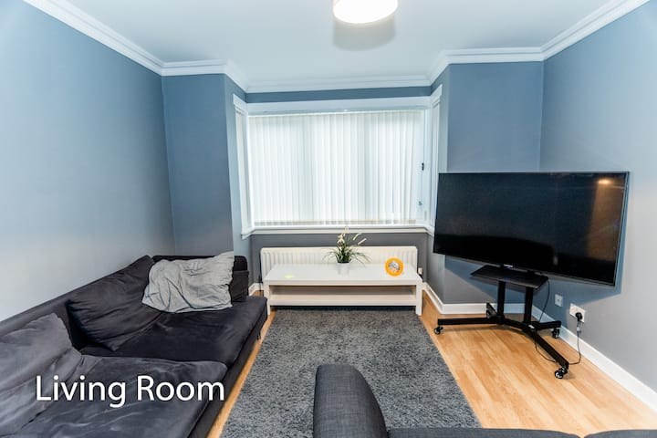 A homely ground floor bedroom in a shared home