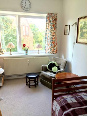 Lyst og hyggeligt værelse i Århus C