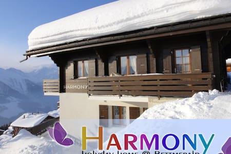 """Chalet """"Harmony"""", Bettmeralp, perfekte Aussicht - Bettmeralp"""