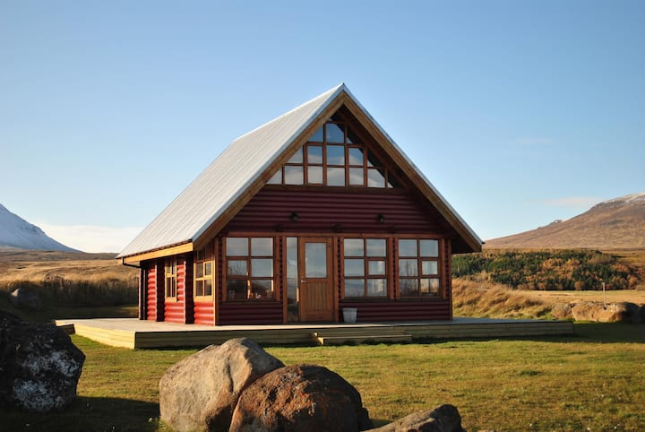 Log house in North Iceland - Hestasport Cottages