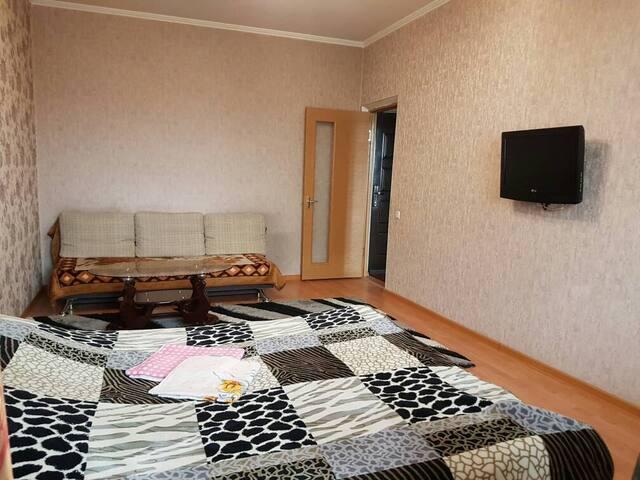 Cozy studio apartment in downtown of Bishkek