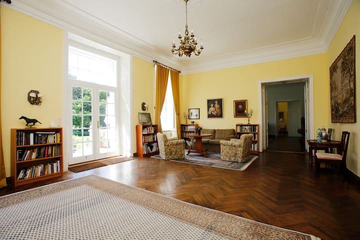 Flat in Mecklenburg Mansion - Whg 1 - Behren-Lübchin - Apartemen